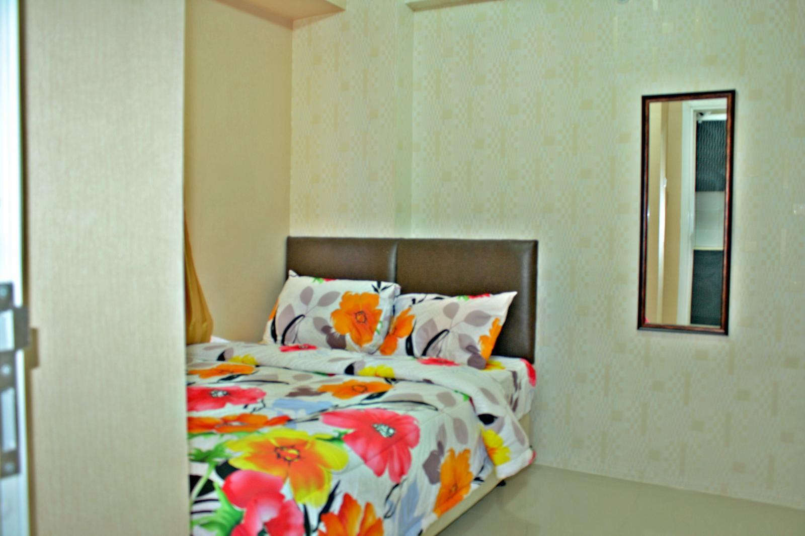 Green Pramuka Cempaka Putih - 2 BR Simple Furnish @ Green Pramuka City Apartment