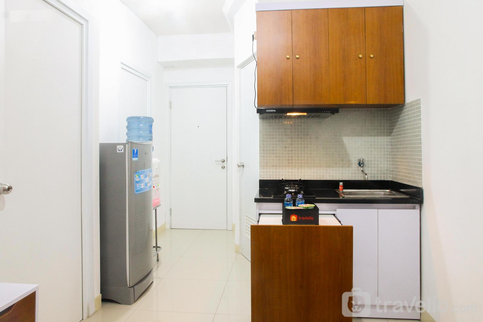 Green Pramuka Cempaka Putih - Simply 2BR Green Pramuka City Apartment Direct Access to Mall By Travelio