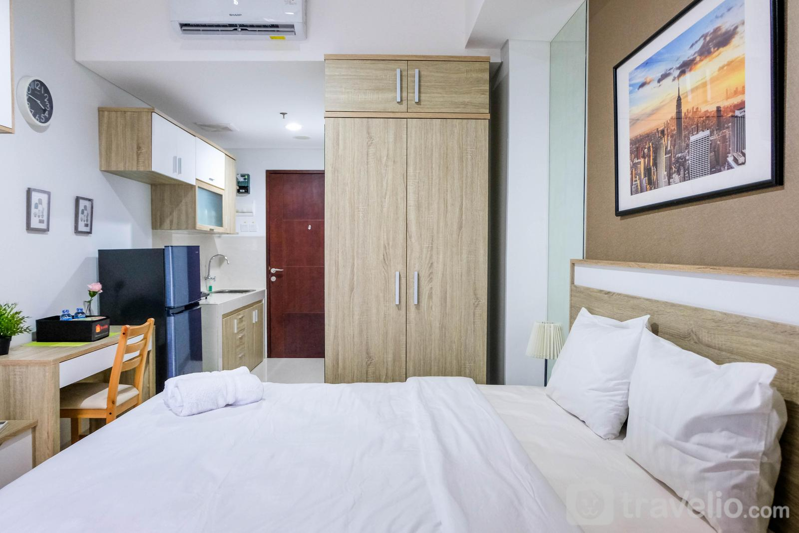 Springwood Residence Tangerang - New Studio Springwood Apartment By Travelio