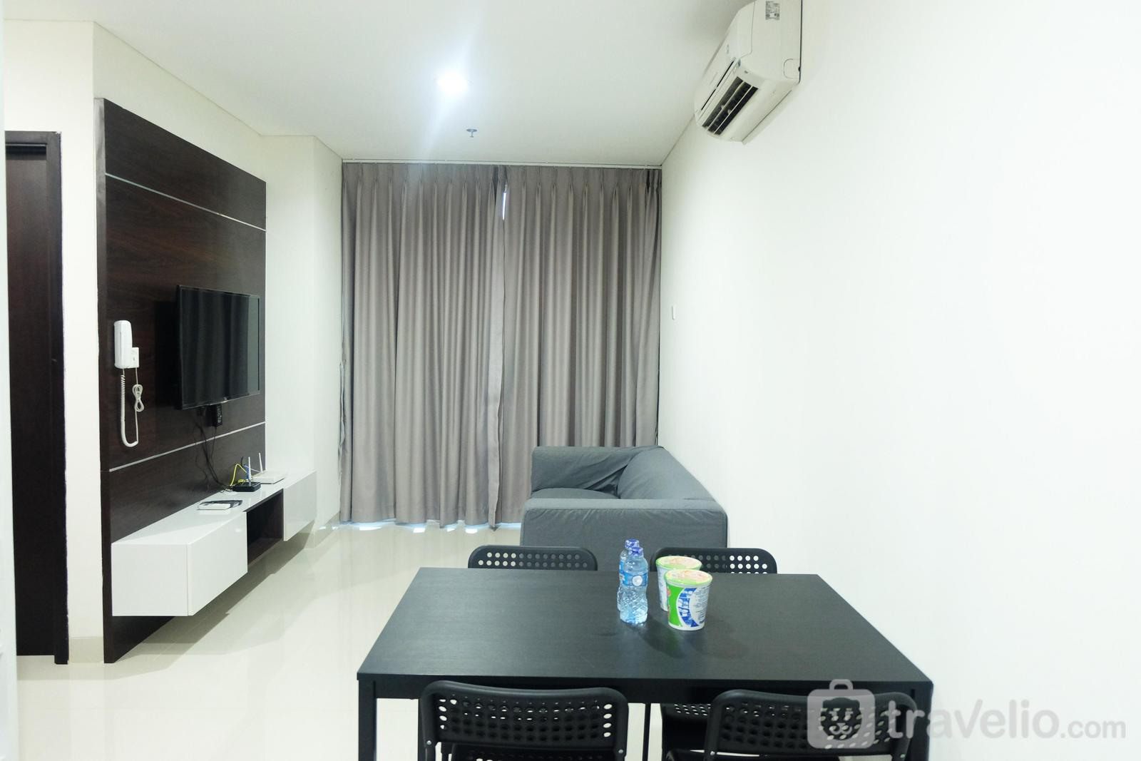 Brooklyn Apartment Alam Sutera - New Homey 2BR Brooklyn Apartment By Travelio