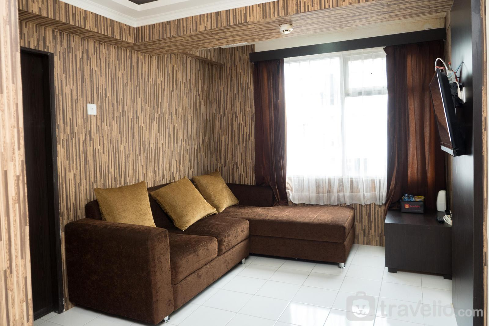 The Jarrdin Cihampelas - Homey 3BR The Jarrdin Apartment near CiWalk Mall By Travelio