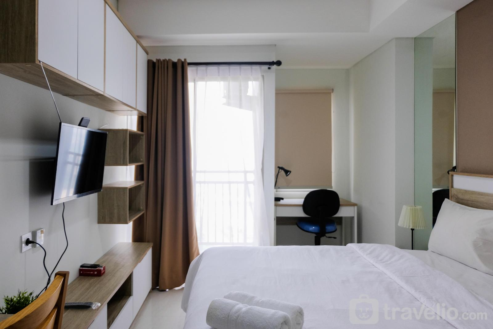 Springwood Residence Tangerang - Simply Minimalist Studio Apartment at Springwood Residence By Travelio