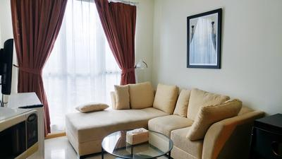 2BR Cityview At Gandaria Heights Apartment By Travelio