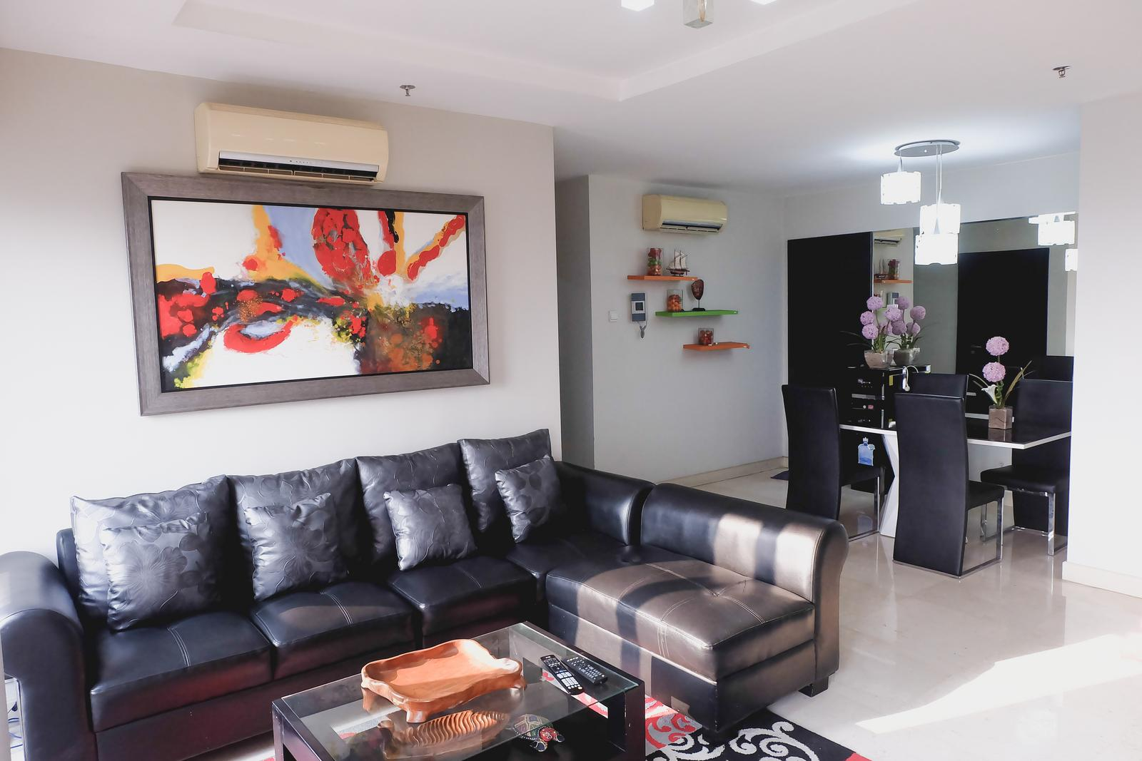 Somerset Berlian Kebayoran Lama - 2BR Premium Berlian Permata Hijau Apartment By Travelio
