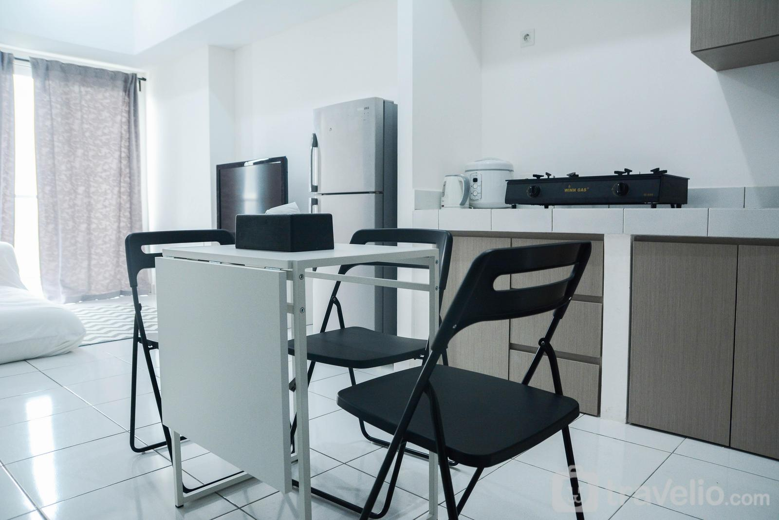 Casa de Parco Apartment - Comfy 1BR Orchidea Casa De Parco Apartment at The Heart of BSD City By Travelio