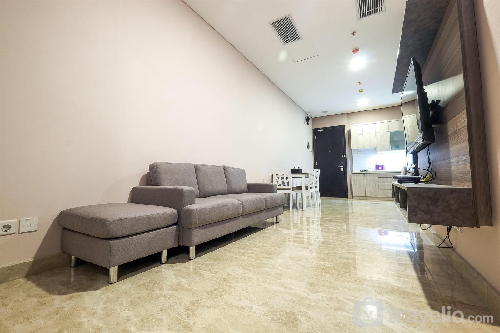 Sudirman Suites Apartment - Strategic 2BR with City View @ Sudirman Suites Apartment By Travelio