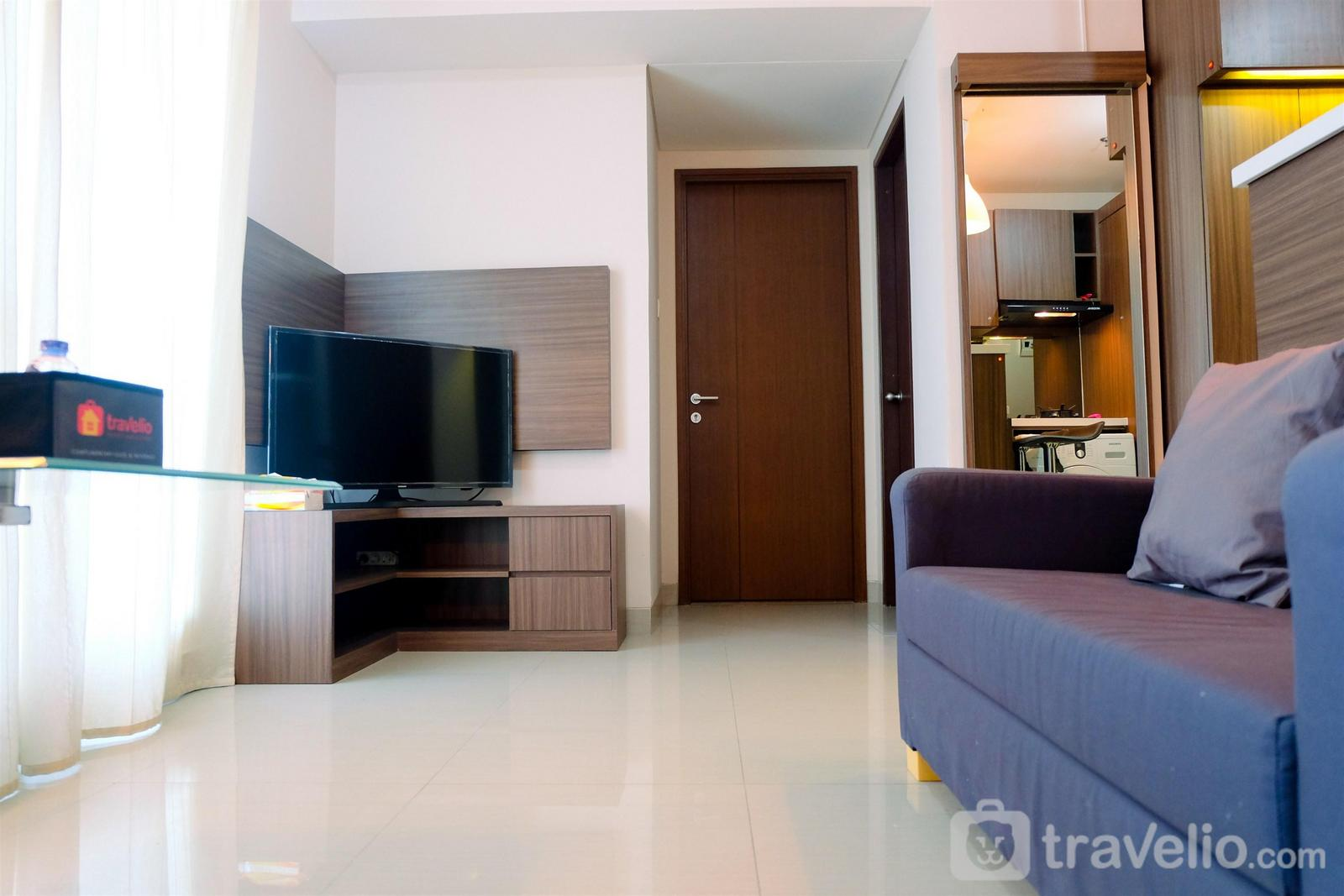 Callia Pulomas - Comfy 2BR Callia Apartment By Travelio