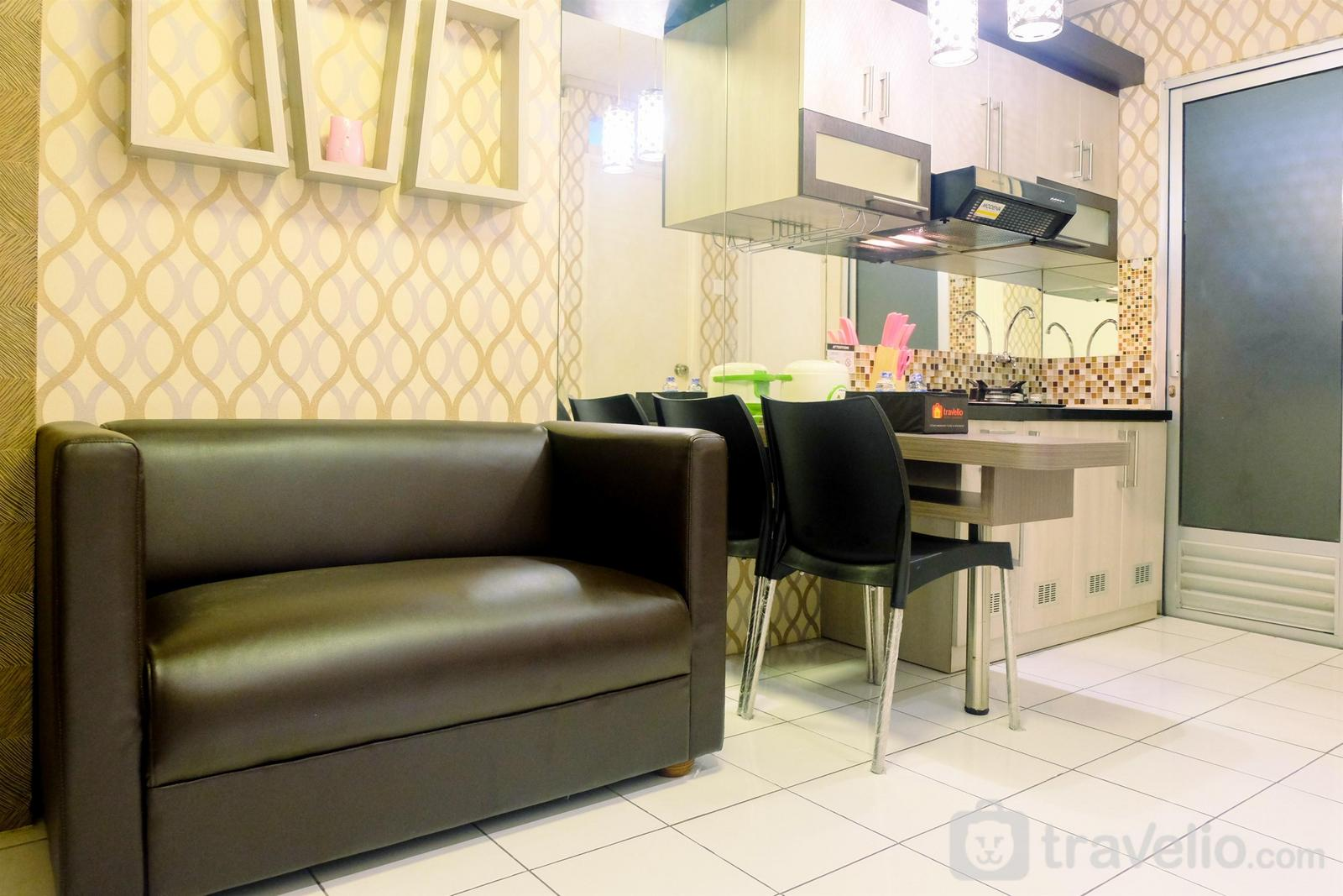 Kalibata City Apartment - Tidy 2BR Kalibata City Apartment By Travelio