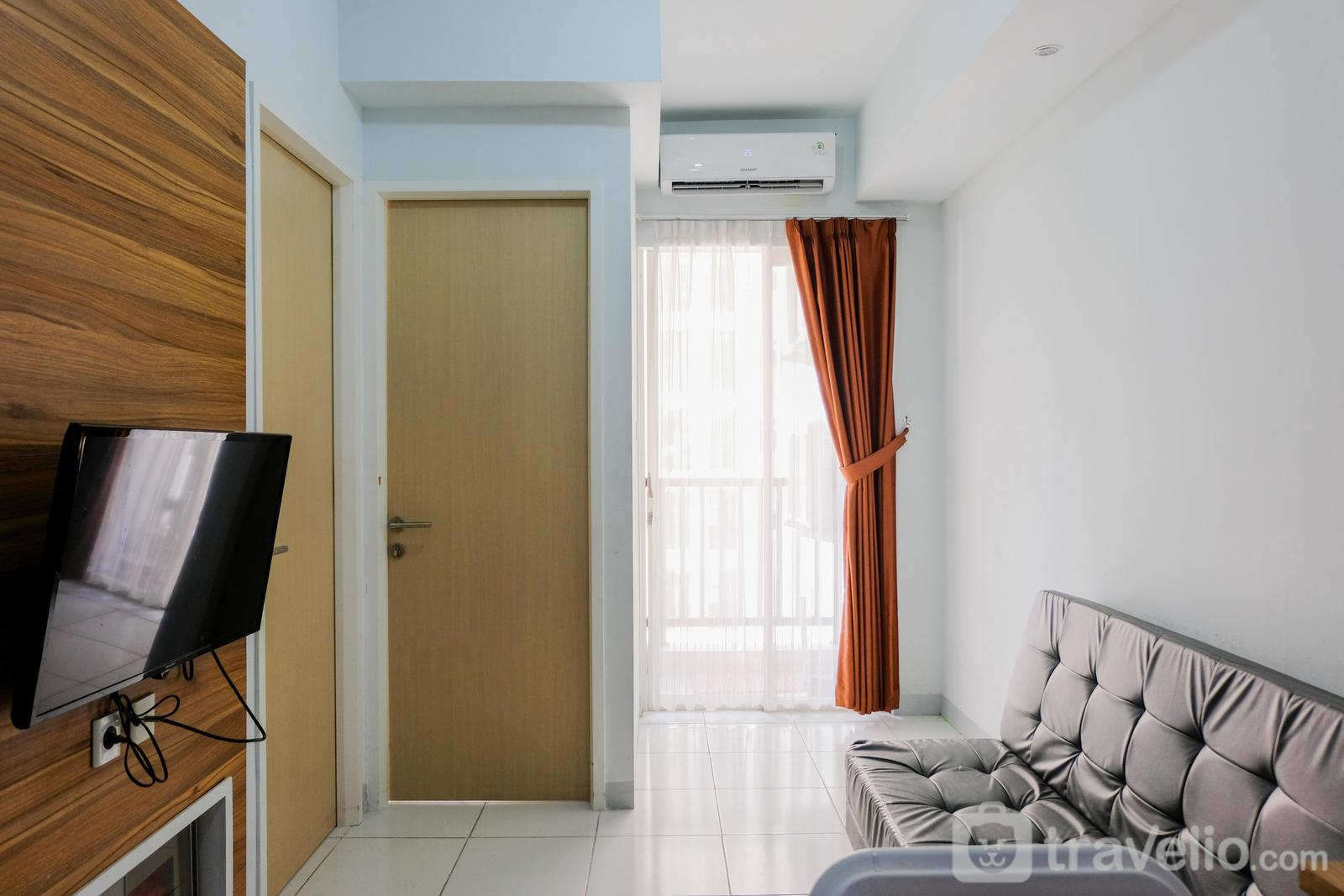 Ayodhya Residence Tangerang - Homey and Comfy 2BR Ayodhya Residence Apartment By Travelio