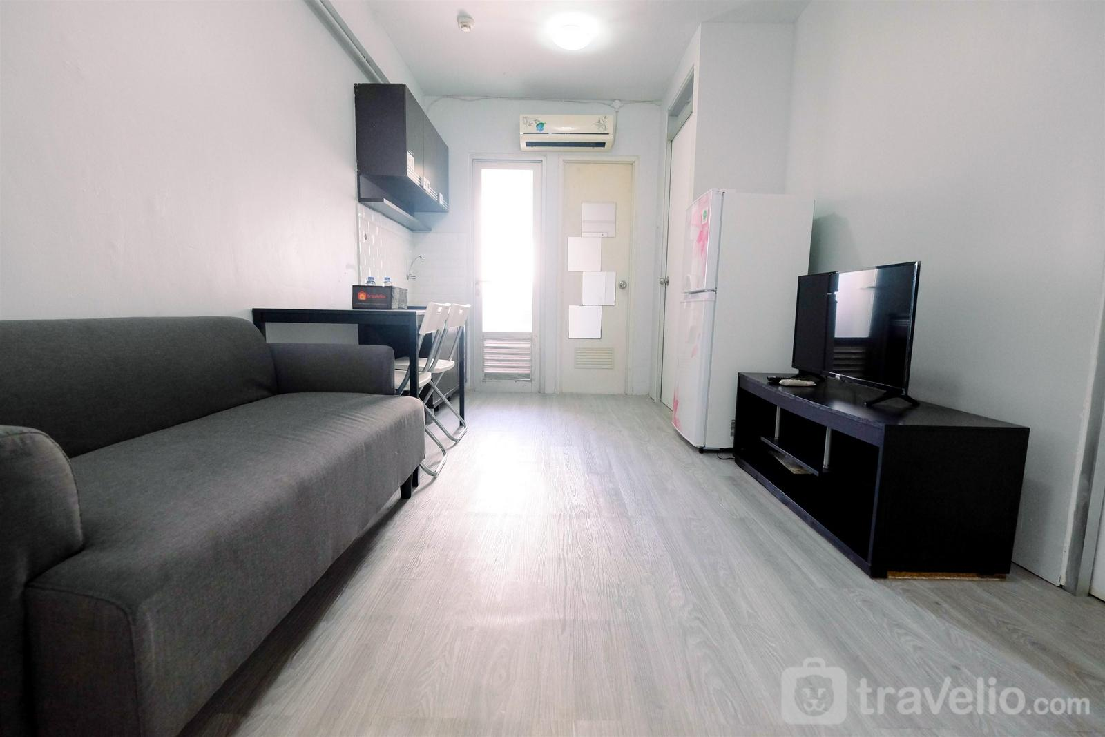Gading Nias Residence - Homey 2BR at Gading Nias Residences Apartment By Travelio