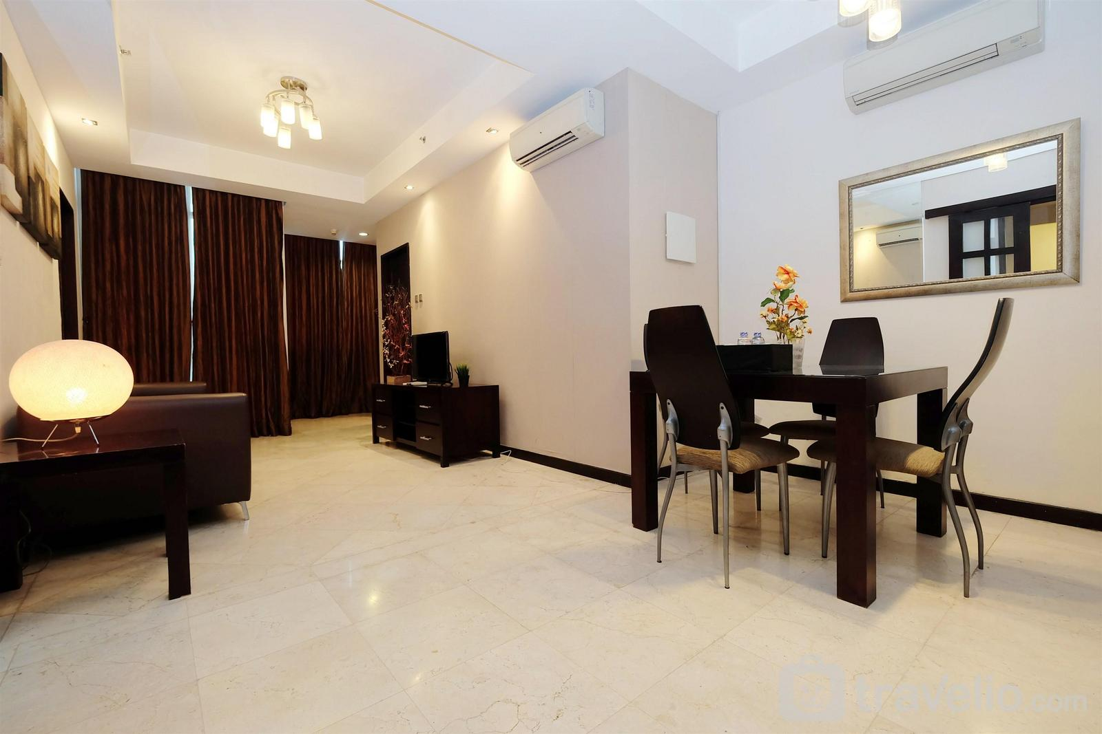 Bellagio Residence - Bellagio Apartment 2BR near Kuningan City By Travelio