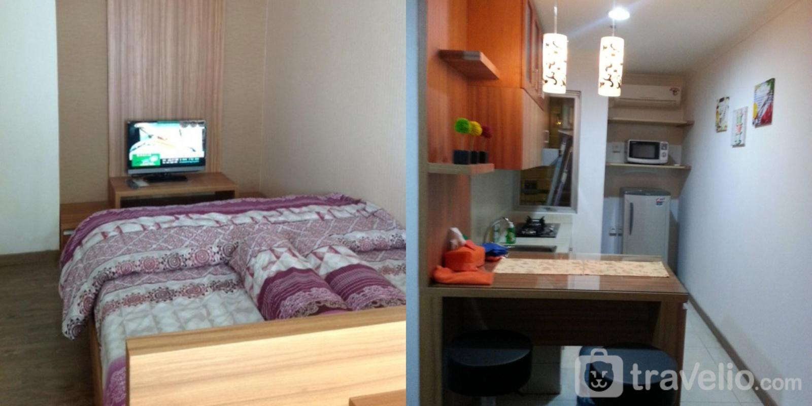 Sudirman Park Apartment - 2 Bed Room Cozy And Homey 45th @ Apartment Sudirman Park By Willy