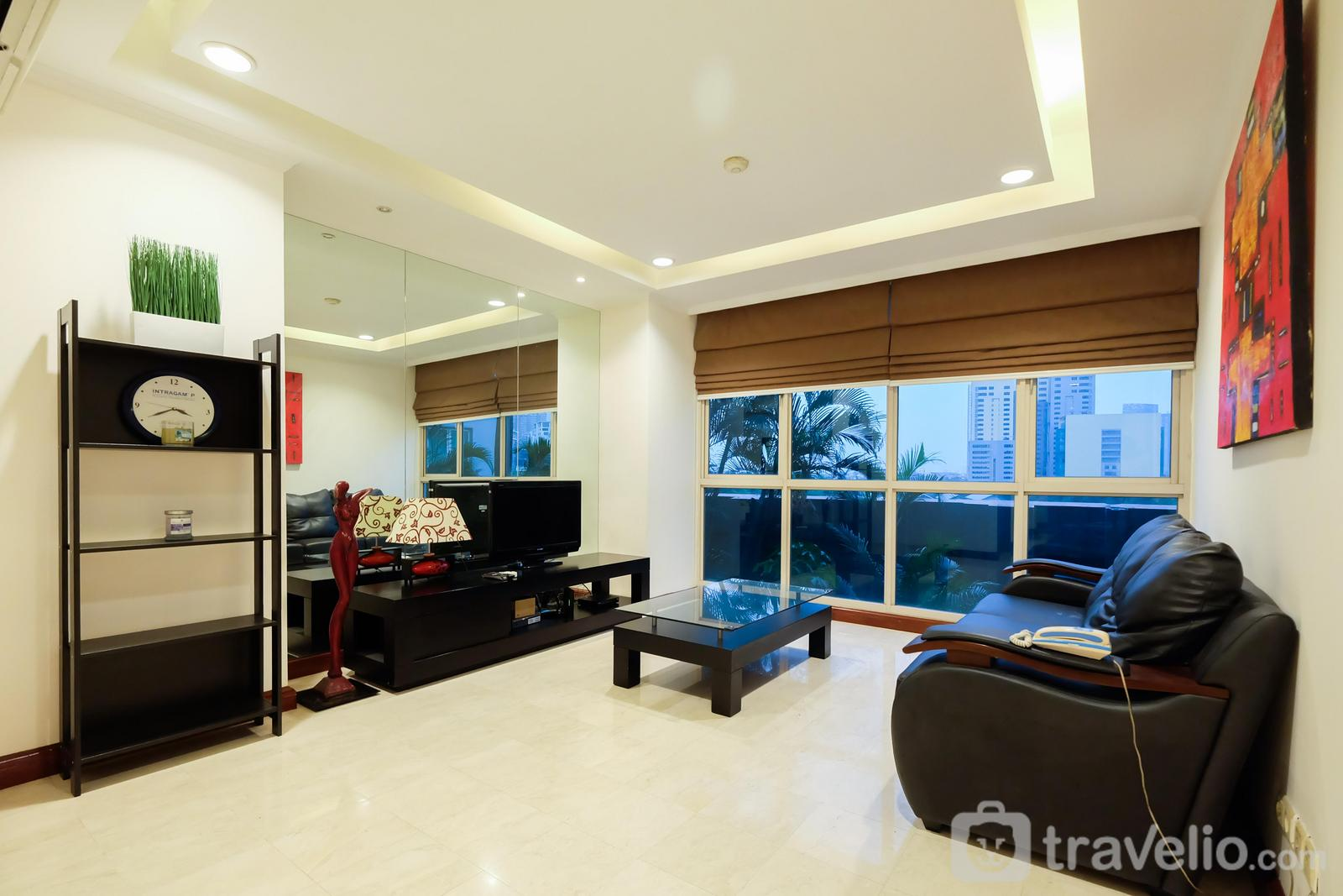 Puri Imperium Apartment - New 2BR Puri Imperium Apartment By Travelio