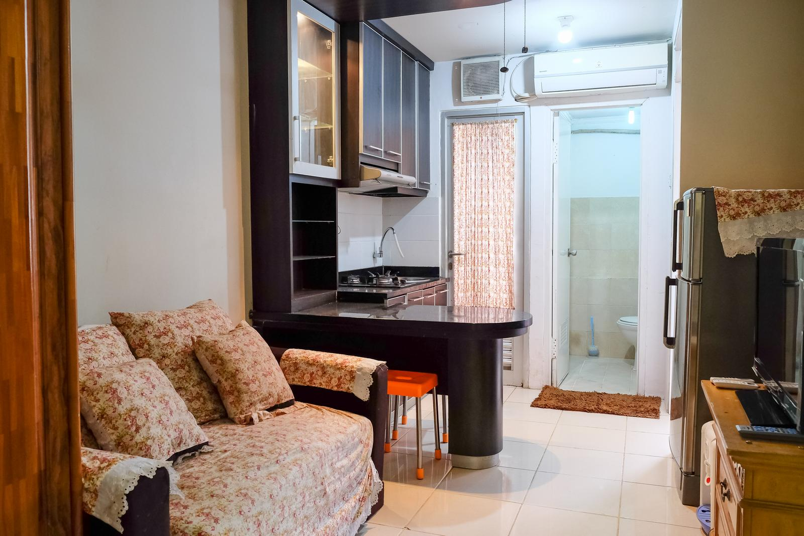 Gading Nias Residence - 2BR Emerald With Pool Access At Gading Nias Residences