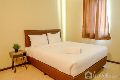 Best 3BR Apartment Grand Palace Kemayoran with Sofabed By Travelio