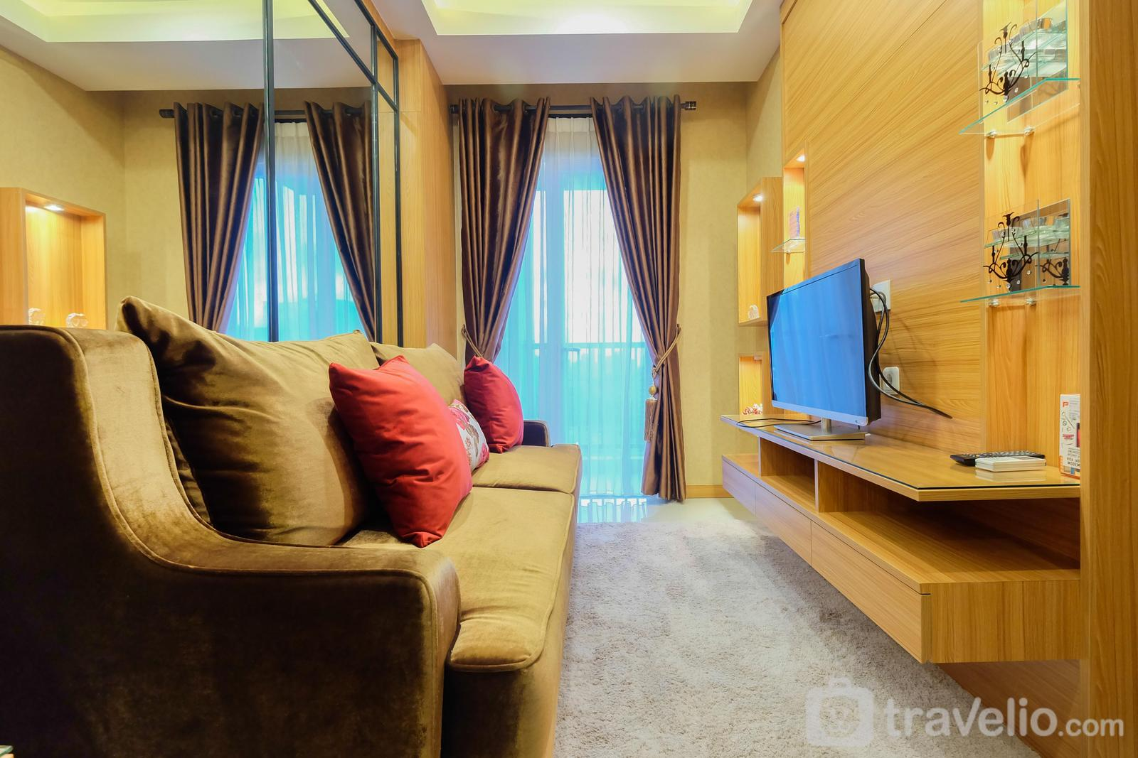 Signature Park Grande M.T Haryono - 1BR with City View Signature Park Grande Apartment By Travelio