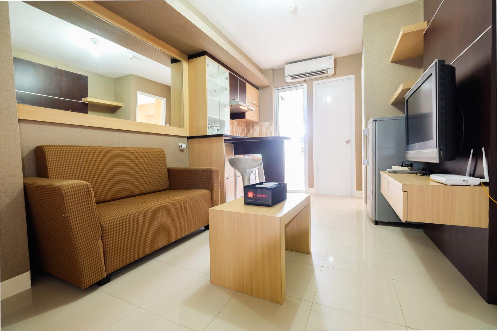 Bassura City Cipinang - Homely 2 BR Bassura City Apartment By Travelio