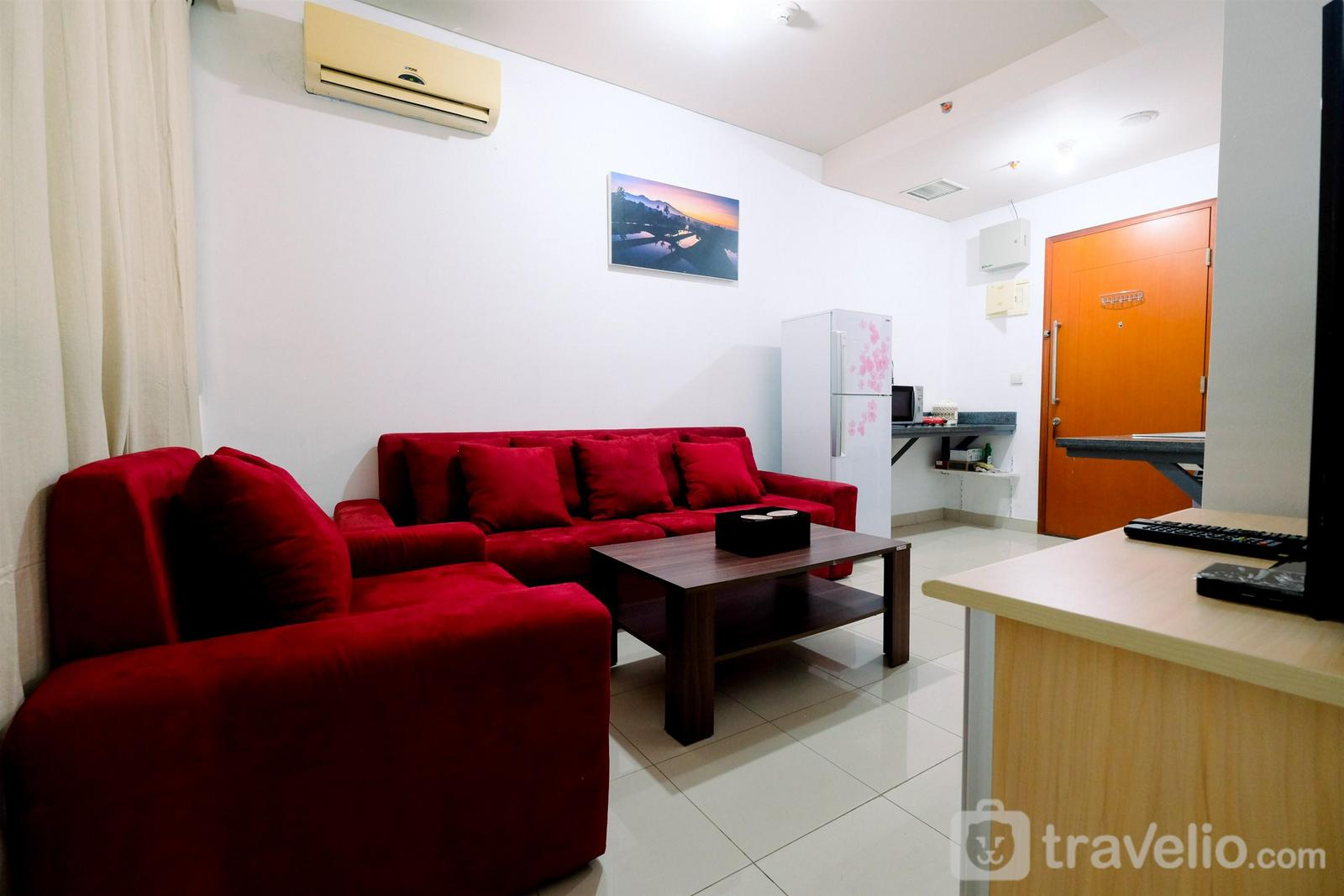 Kuningan Place Apartment - Modern 1BR at Kuningan Place Apartment near Shopping Mall By Travelio