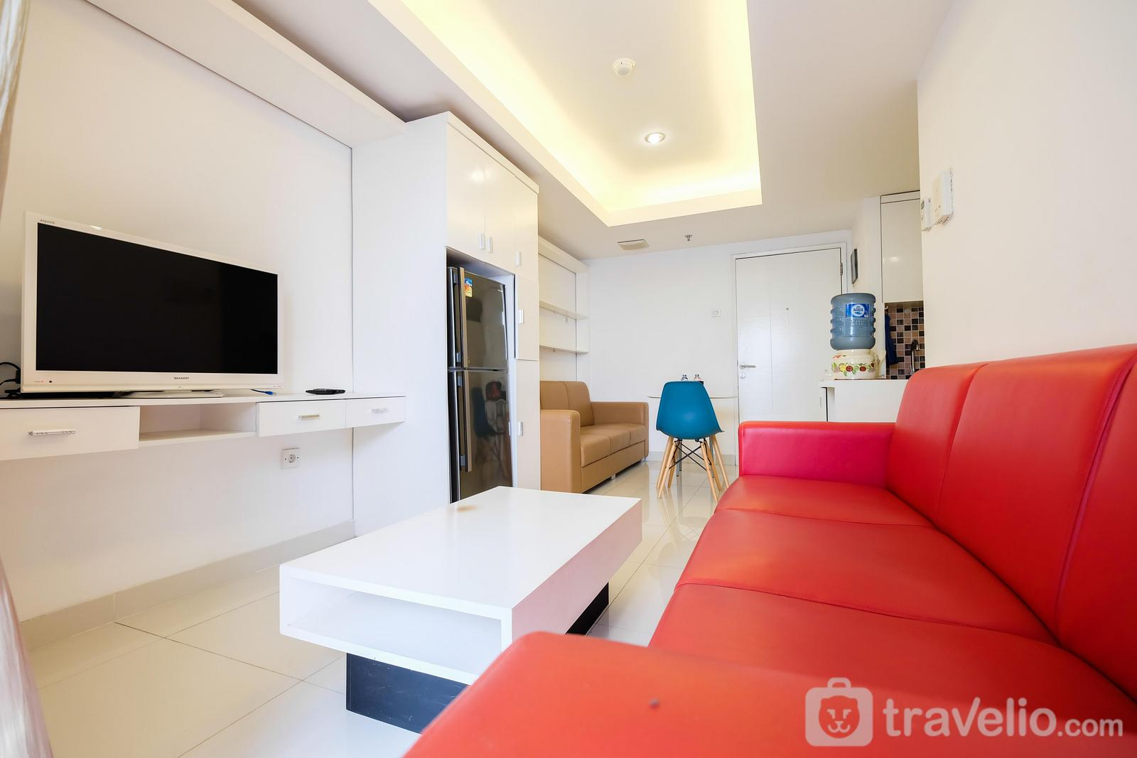 The Wave Kuningan - 1BR The Wave Apartment near Kota Kasablanka By Travelio