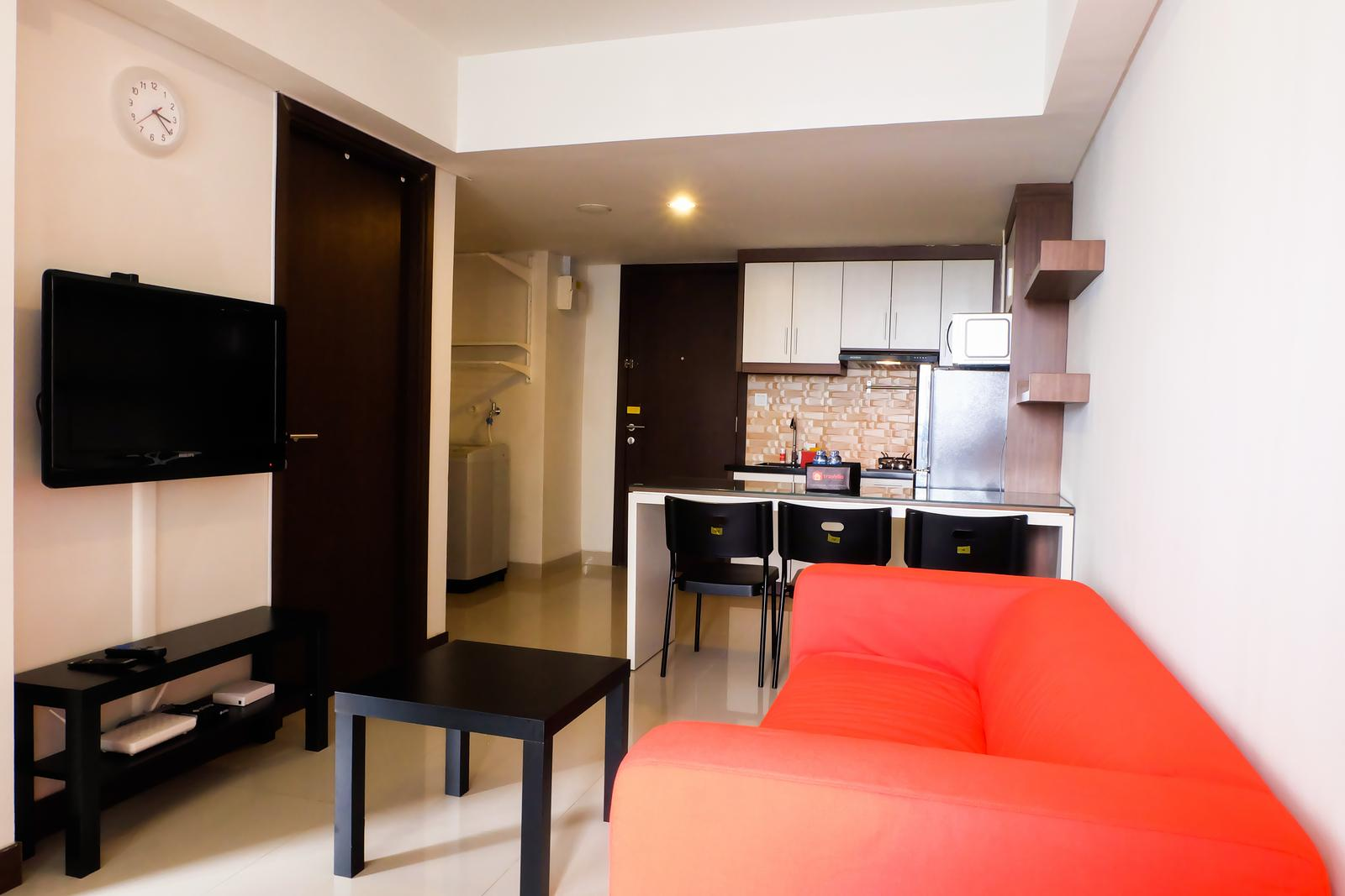 H Residence - 2BR Best Location The H Residence Apartment By Travelio