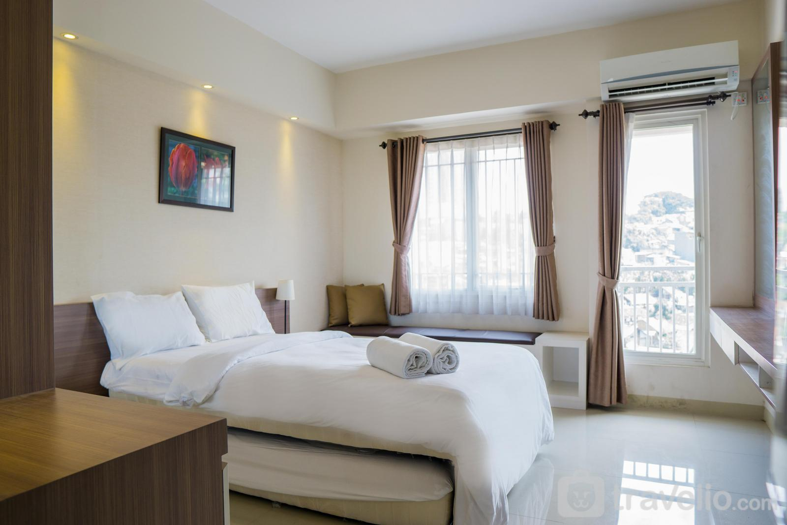 Galeri Ciumbuleuit 2 Apartment - Exquisite Studio Apartment at Galeri Ciumbuleuit 2 By Travelio