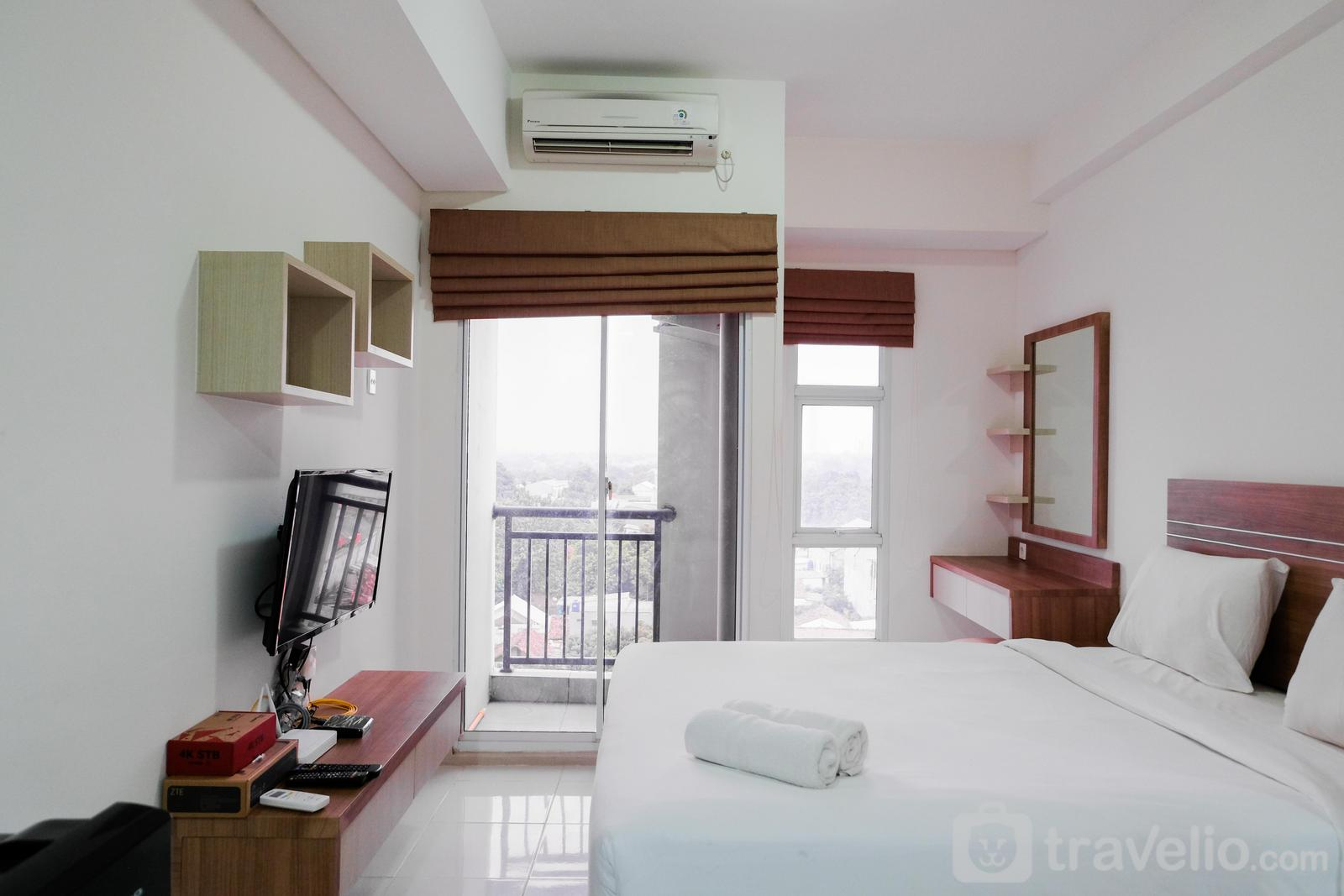 Akasa Pure Living Apartement - Minimalist Studio Akasa Pure Living Apartement By Travelio