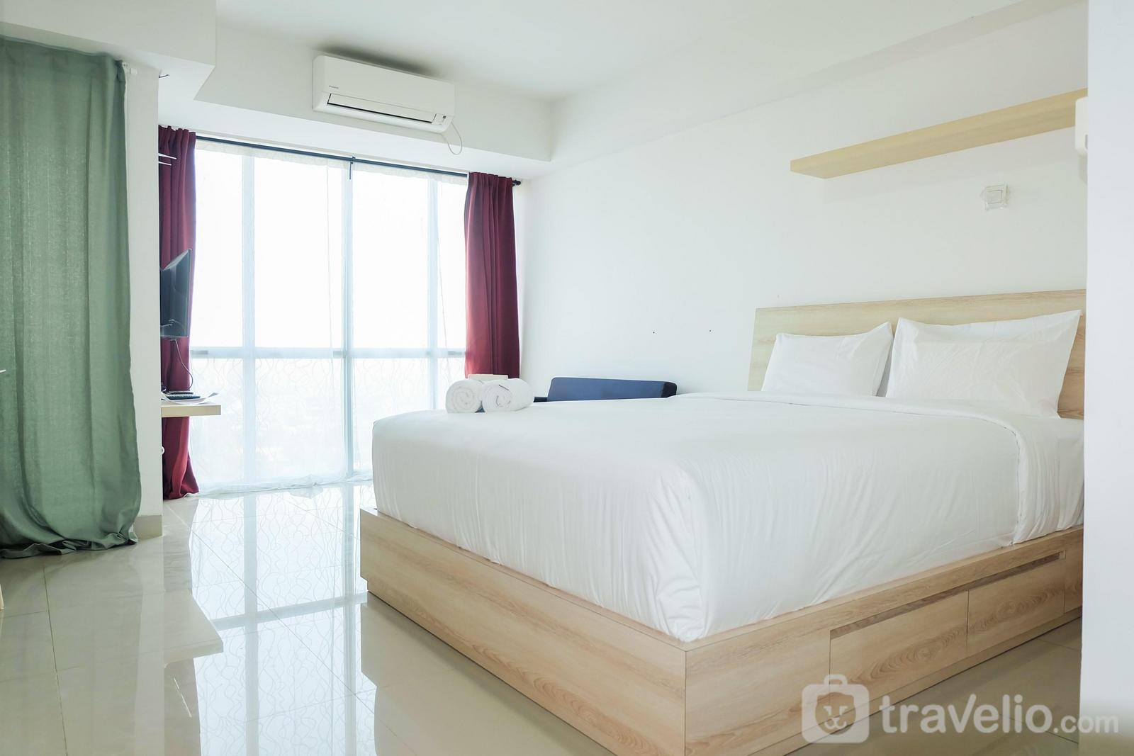 H Residence - City View Studio Apartment at H Residence MT Haryono By Travelio
